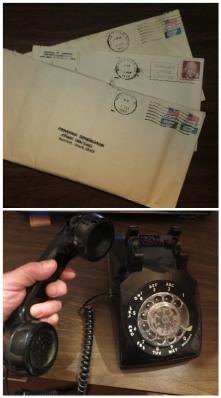 retro letter phone