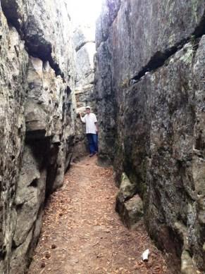 Bogus Jim LMH maze tunnel 2015--9-6