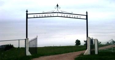Edgemont Cemetery gate