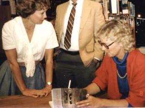 Linda signs WINDBREAK 1987--9-11 - Copy