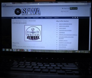 SFWA screen shot