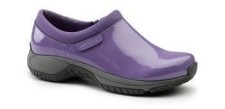 Periwinkle Patent Leather Clogs