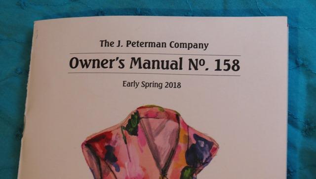 J Peterman catalog
