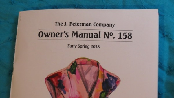 J Peterman catalog