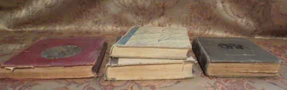 Old poetry books