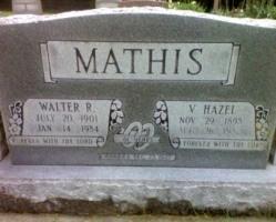 Walter Mathis grave found online