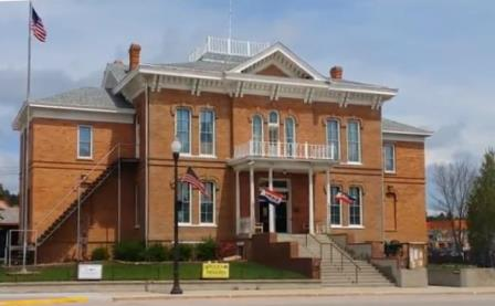 1881 Custer County Courthouse now a museum
