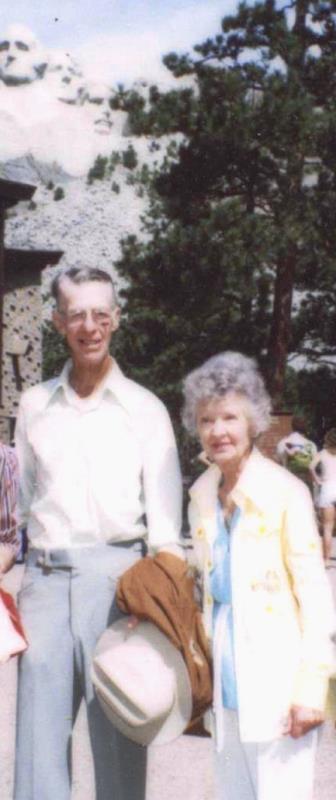 John and Mildred at Mt Rushmore 1970s
