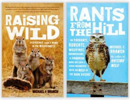 book branch raising wild and rants from hill