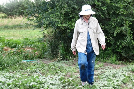 Clothes - gardening hat and overalls 2013