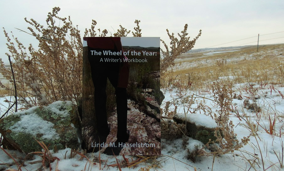 Yule - Wheel of the Year with snow sage rocks_edited