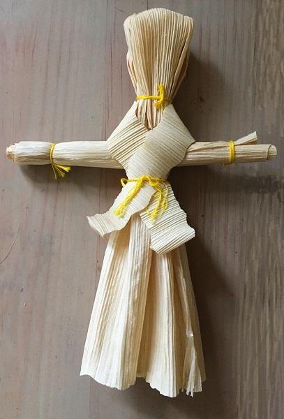 Lammas corn dolly
