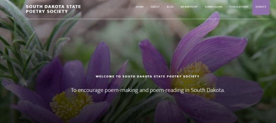 SD State Poetry Society website photo